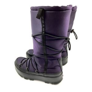 PRADA purple winter snow boots